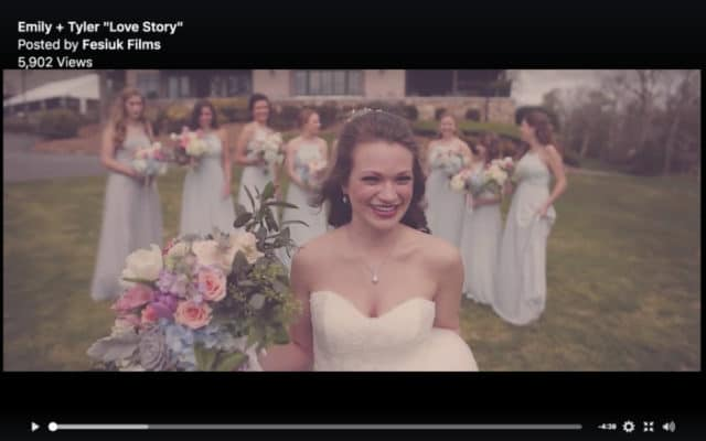 Emily and Tyler Wedding from Fesiuk films