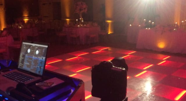 DJ Lighting for Parties-Red