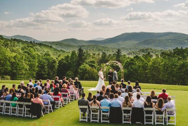 Wedding Ceremony Champion Hills Hendersonville NC